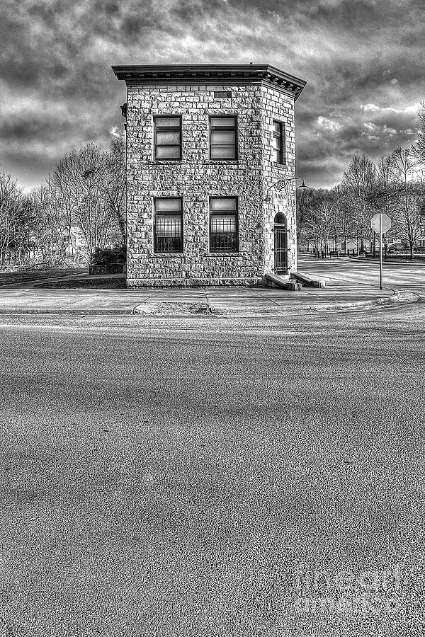 Bank Photograph - Bank Of Glen Jean Wv by Dan Friend