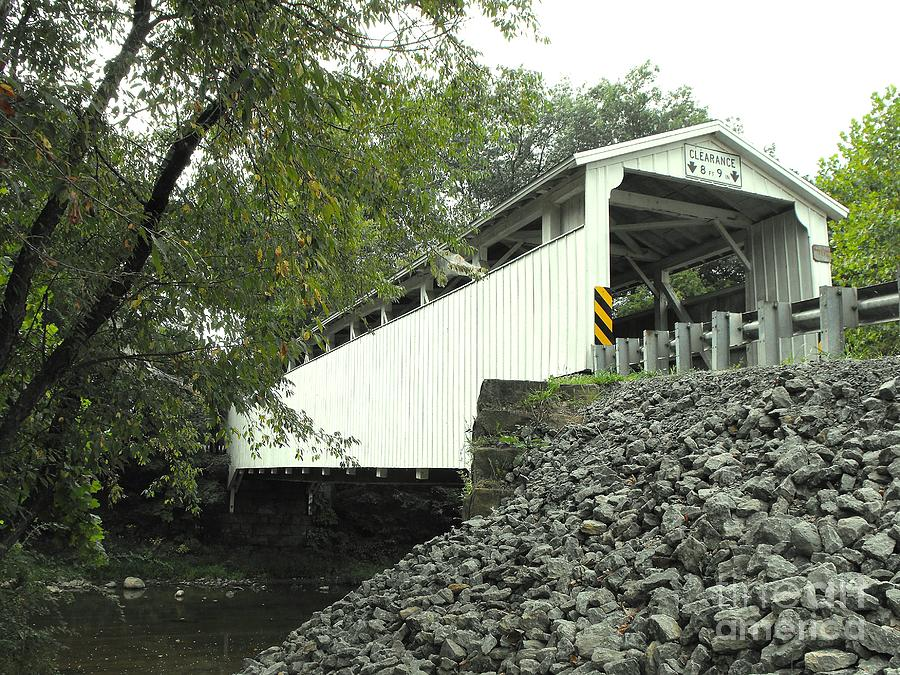 Covered Bridge Photograph - Banks Covered Bridge by Spencer McKain