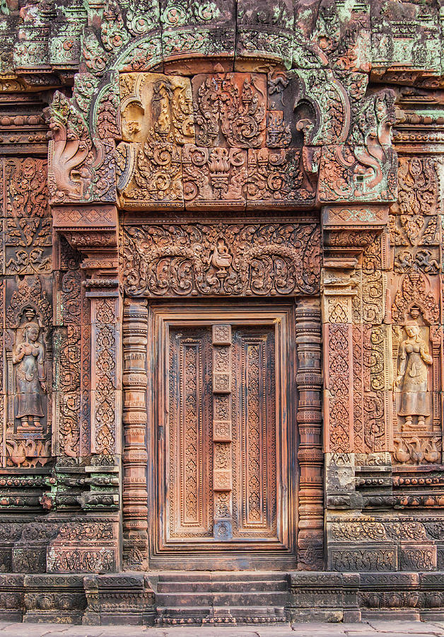 Banteay Srei Castle Photograph by Pushishdonhongsa