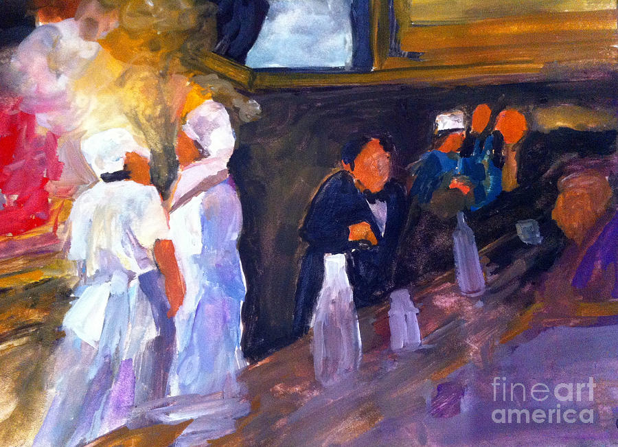 Tavern Painting - Bar And Grille by Sandra Stone