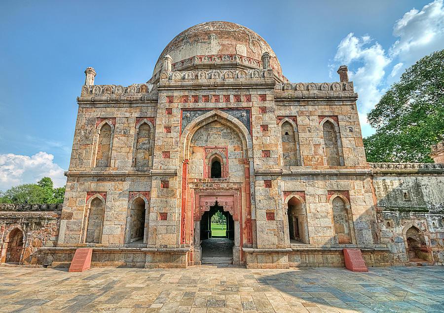 Bara Gumbad, Lodi Gardens, New Delhi Photograph by Mukul Banerjee Photography
