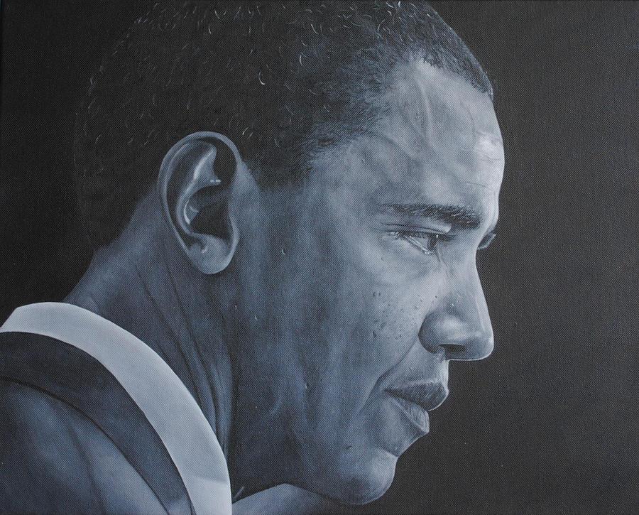 Barack Obama Painting - Barack Obama by David Dunne