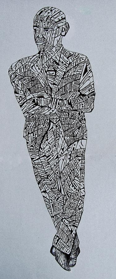 Barack Obama Drawing - Barack Obama by Lourents Oybur