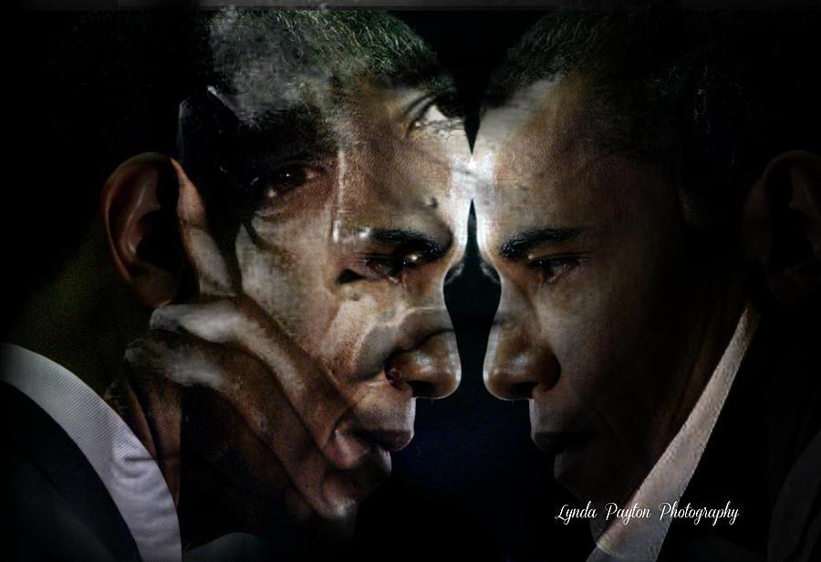 Barack Obama Digital Art - Barack Obama -  by Lynda Payton