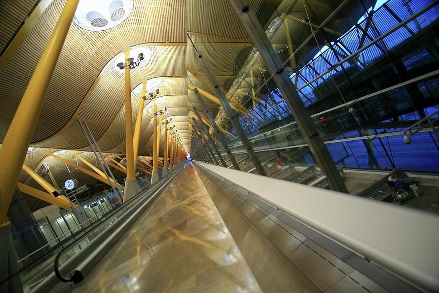 Empty Photograph - Barajas International Airport, Madrid by Hisham Ibrahim
