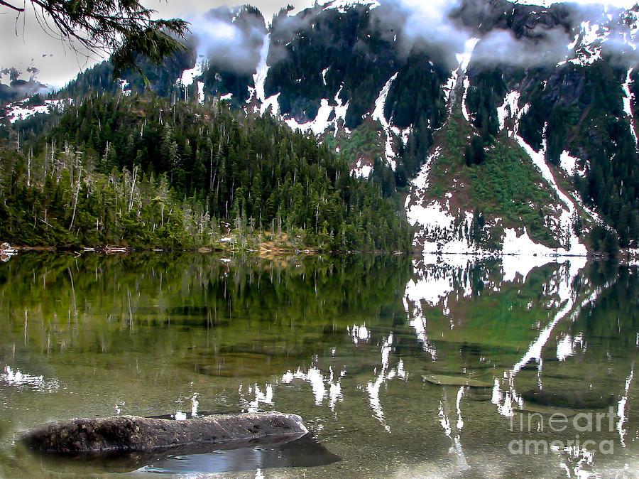 Alaska Photograph - Baranof Lake by Robert Bales