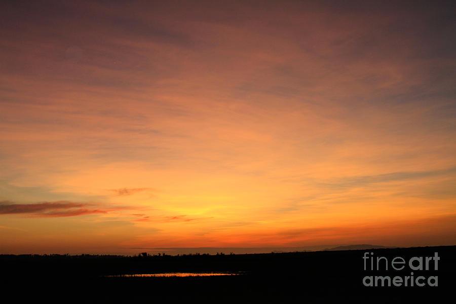 Sunset Photograph - Baray Sunset by Donald Chen