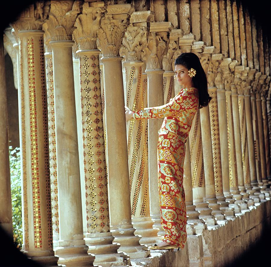 Barbara Bach In Monreale Photograph by Henry Clarke