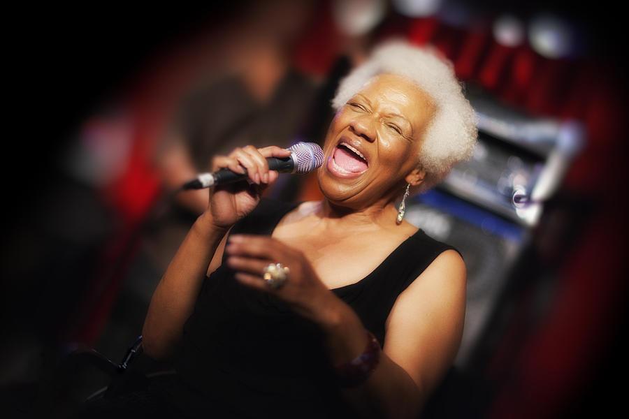 Jazz Photograph - Barbara Morrison by Dailey Pike