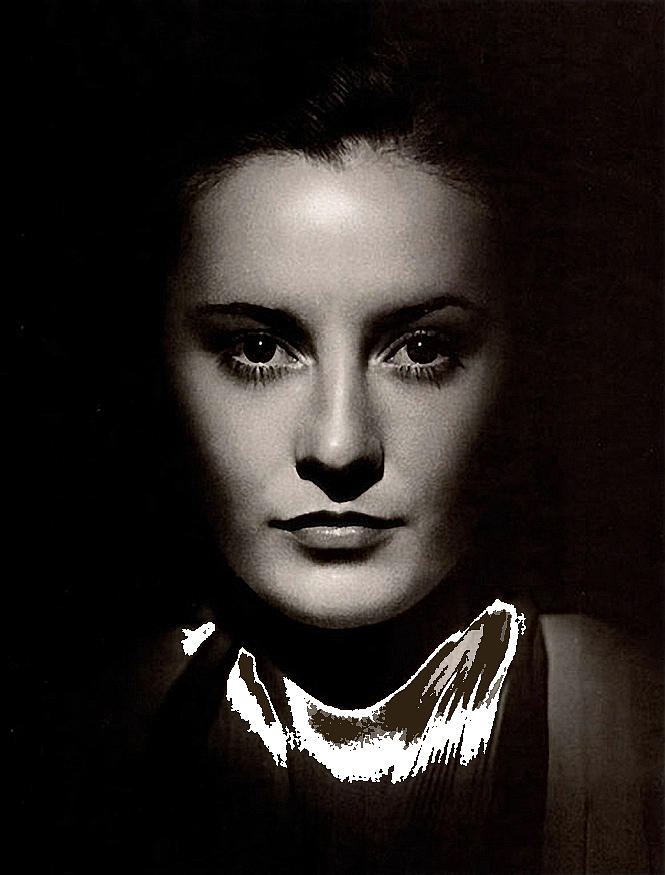 Barbara Stanwyck Early In Her Career C.1933-2014 Photograph by David Lee Guss