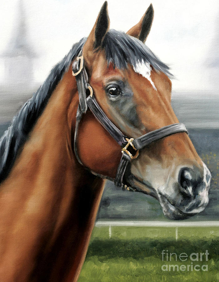 Churchill Downs Painting - Barbaro At Churchill Downs by Thomas Allen Pauly