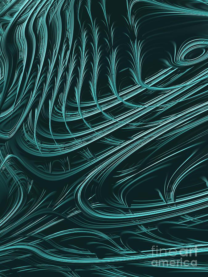 Barb Digital Art - Barbed by John Edwards