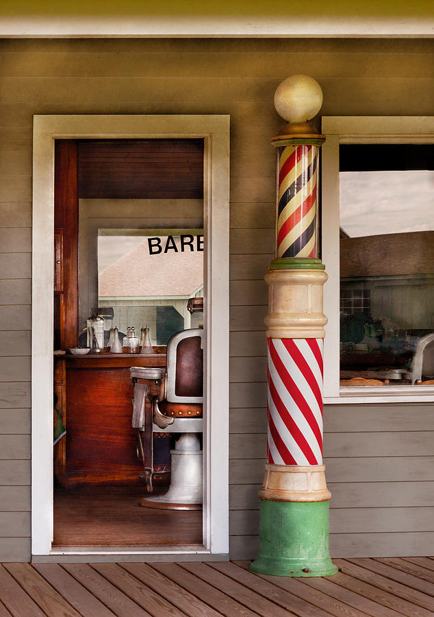Barber Photograph - Barber - I Need A Hair Cut by Mike Savad