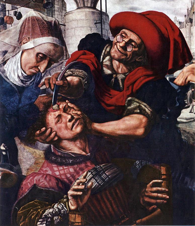 Image result for medieval barber surgeon
