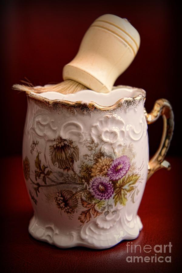 Paul Ward Photograph - Barber - Victorian Shaving Mug 2 by Paul Ward