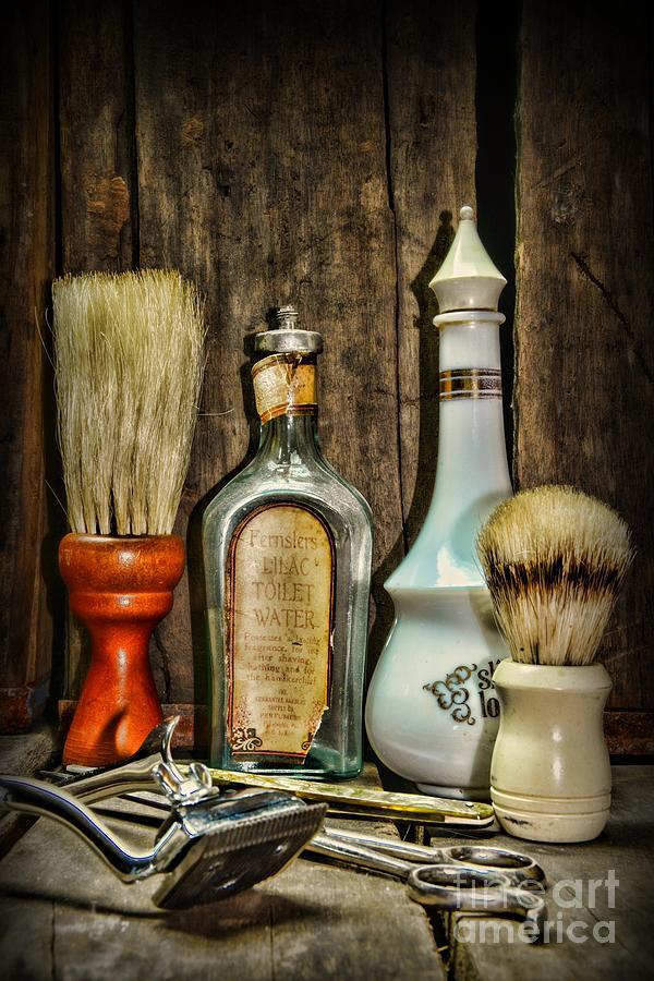 Vintage Barber Bottles Photograph By Paul Ward