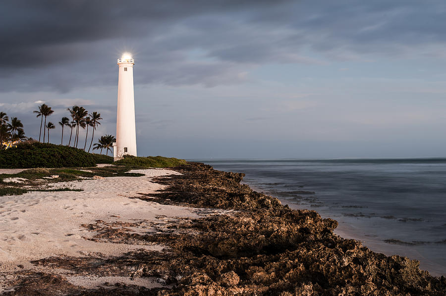 Landscape Photograph - Barbers Point Lighthouse by Jason Bartimus