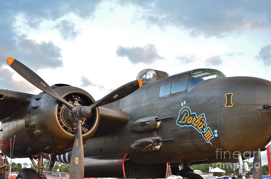 North American B-25h Mitchell Photograph - Barbie IIl by Lynda Dawson-Youngclaus