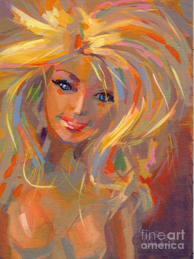 Barbie Licious Painting By Kimberly Santini