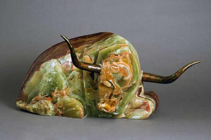 Animal Sculpture - Barbie-q by Mark Yale Harris