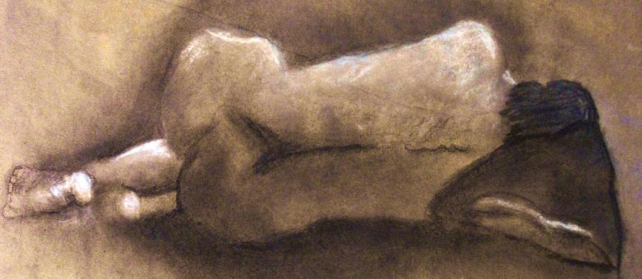 Nude Drawing - Barbiturate Bliss by Crystal  Menicola