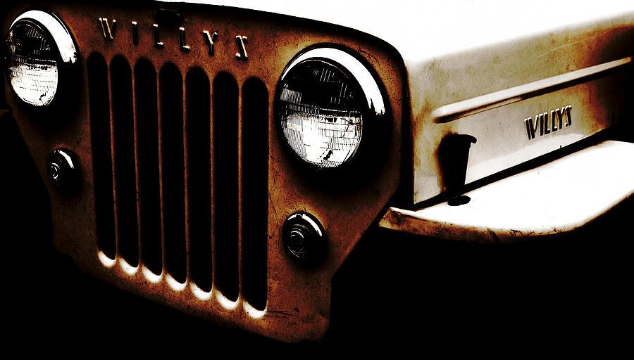 Jeep Photograph - Bare Bones Rusty by Luke Moore