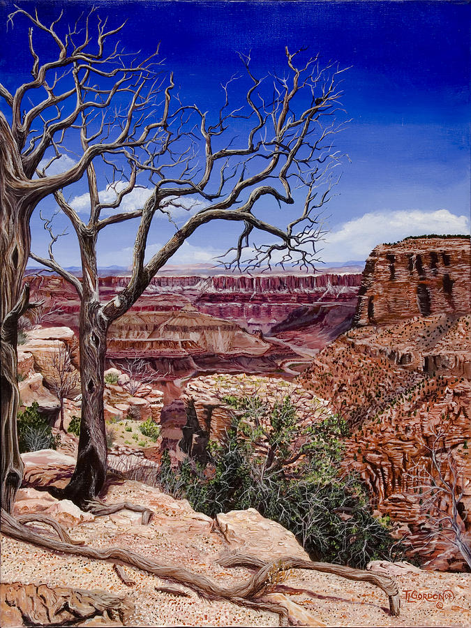 Landscape Painting - Bare Limbs by Timithy L Gordon