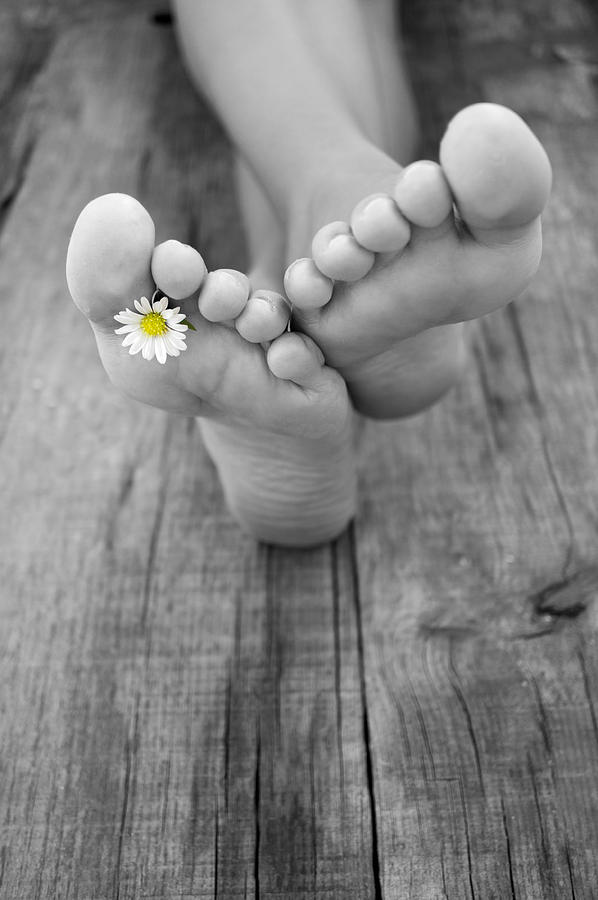 Barefoot Photograph - Barefoot by Aged Pixel