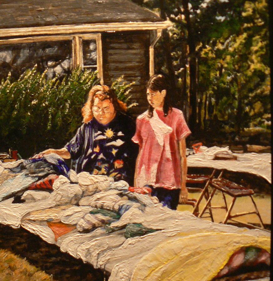 Rural Life Painting - Bargain Hunter by Thomas Akers
