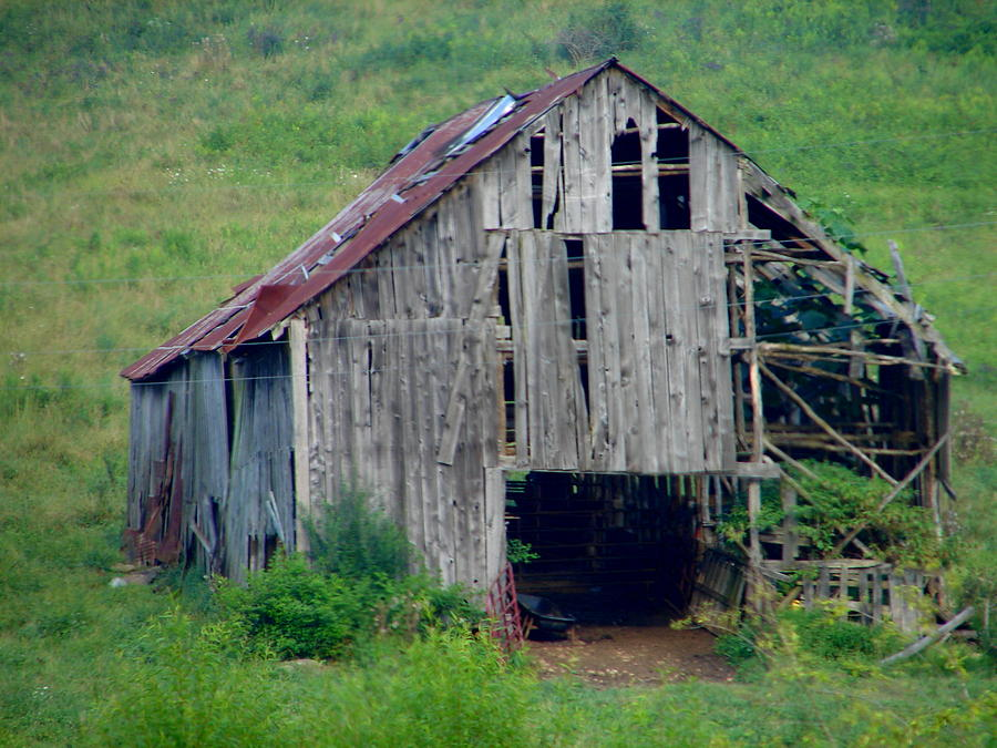 Barn Photograph - Barn 1 by Lew Davis