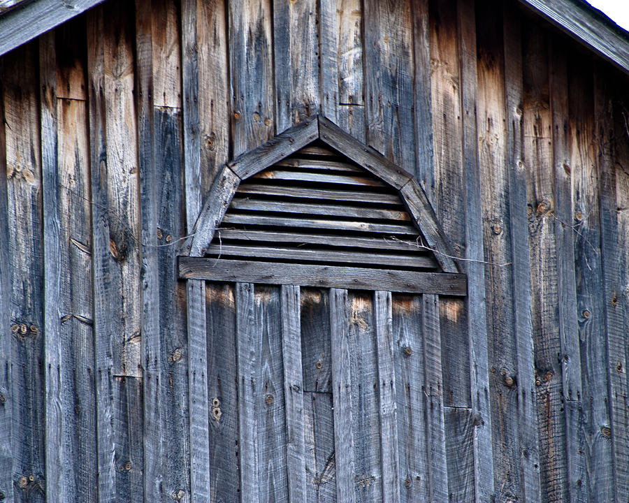 Barn Photograph - Barn And Batten by Nickaleen Neff