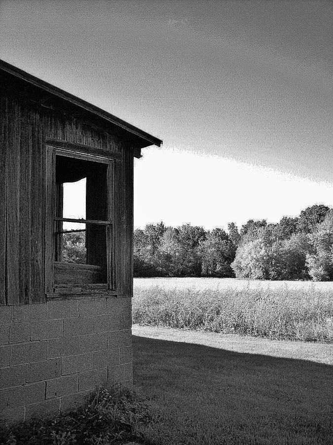 Barn Photograph - Barn Corner by Daniel Thompson