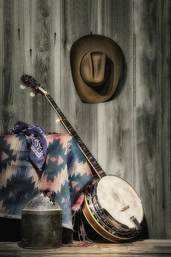 Banjo Photograph - Barn Dance Hoe Down by Tom Mc Nemar