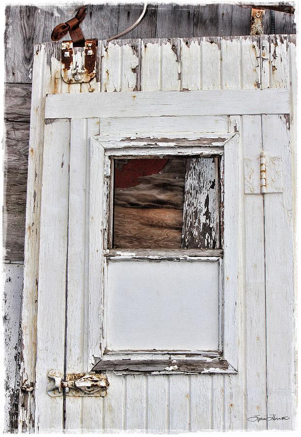 Door Photograph - Barn Door by Sylvia Thornton