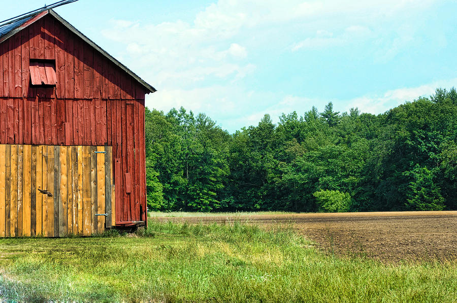 Barn Photograph - Barn Green by Kenneth Feliciano