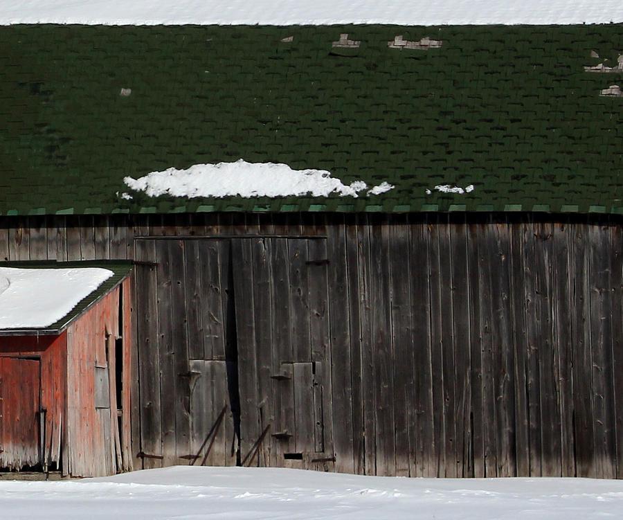 Barn Photograph - Barn Parts 10 by Mary Bedy