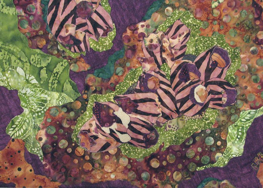 Nature Tapestry - Textile - Barnacles by Lynda K Boardman