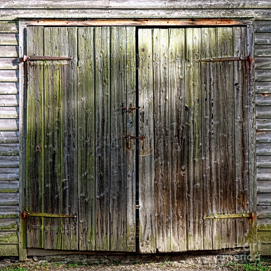 Barn Photograph - Barndoors  by Olivier Le Queinec