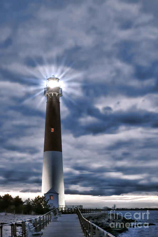 Barnegat Photograph - Barnegat Magic by Olivier Le Queinec
