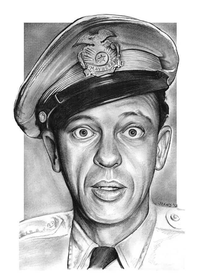 Barney Fife Drawing