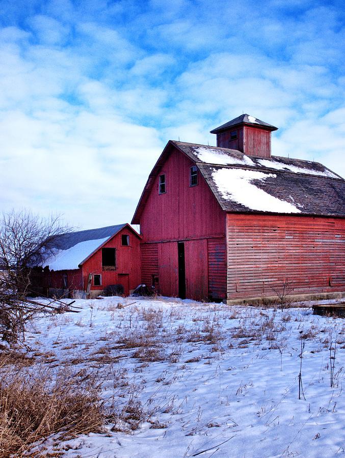 Barns Photograph - Barnstorm by Tom Druin