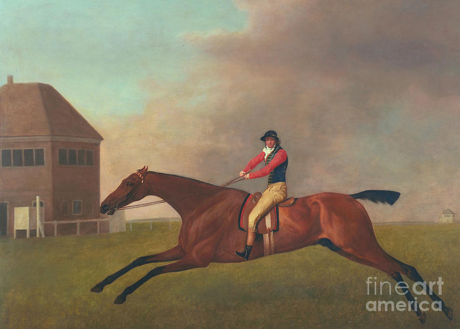 Horse Painting - Baronet With Sam Chifney Up by George Stubbs