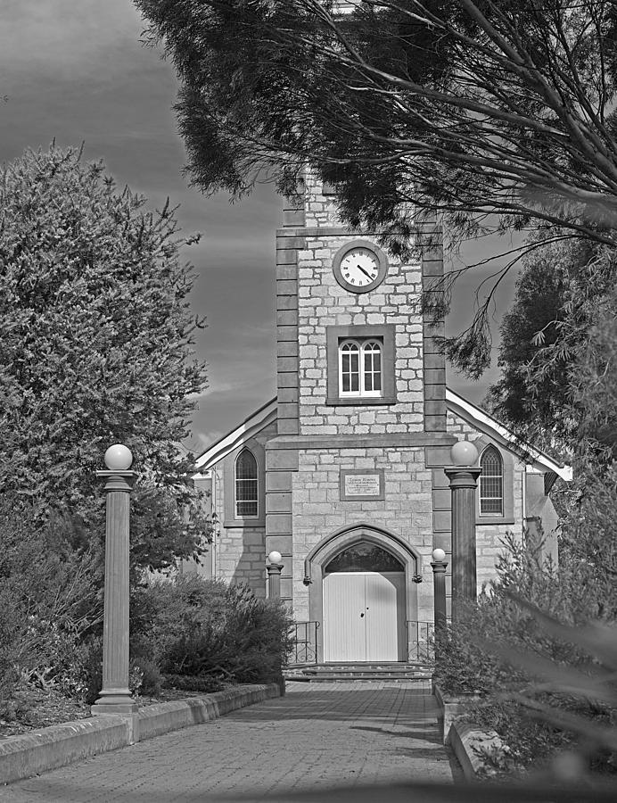Church Photograph - Barossa Valley Church by Gordon  Grimwade