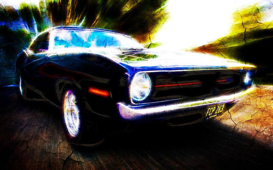 Custom Plymouth Photograph - Barracuda Bliss by Phil motography Clark