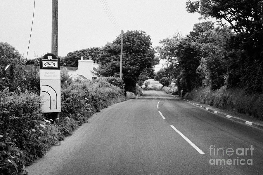 Europe Photograph - Barre Garroo On The Isle Of Man Tt Course Iom by Joe Fox