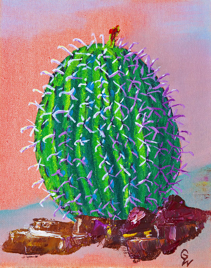 Barrel Cactus by Greg Wells