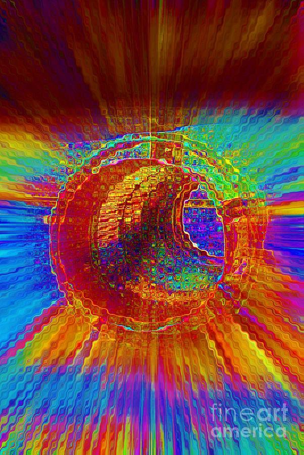 Barrel Roll Digital Art - Barrel Roll by Lorles Lifestyles