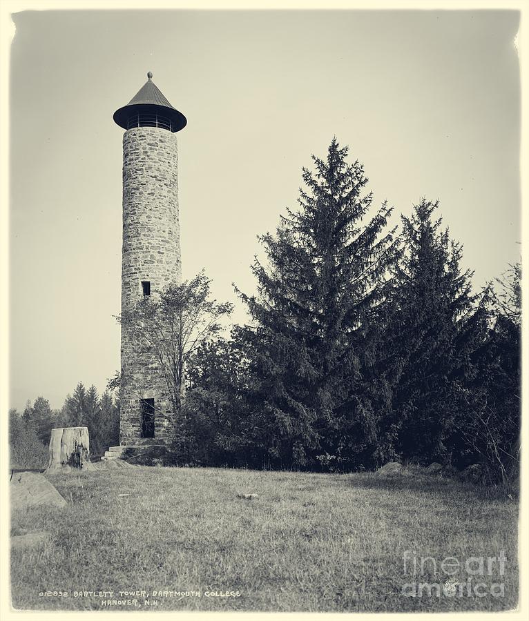 Bartlett Photograph - Bartlett Tower Dartmouth College Hanover Nh by Edward Fielding