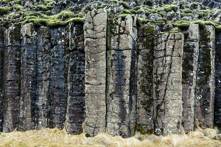 Basalt Photograph - Basalt Columns by Dr Juerg Alean