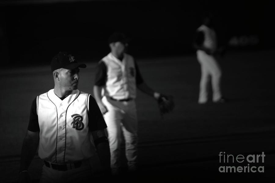 Baseball Photograph - Baseball Days by Karol Livote